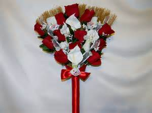 How To Decorate A Broom For A Wedding by Pictures Of Wedding Brooms Wedding Jumping Broom Custom
