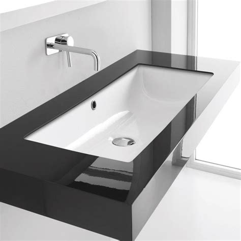 modern basins bathrooms kanal 80 studio bagno italian bathroomware tapware