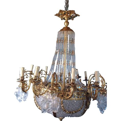 Chandelier Style L by Louis Xvi Style Gorgeous Chandelier From