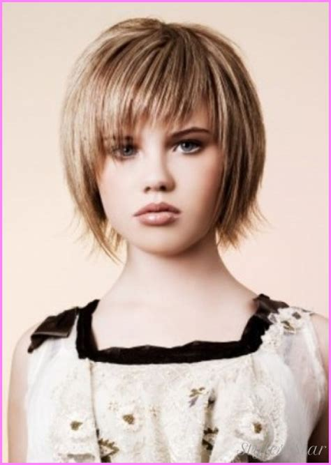 haircuts cute bangs little girls short haircuts with bangs stylesstar com