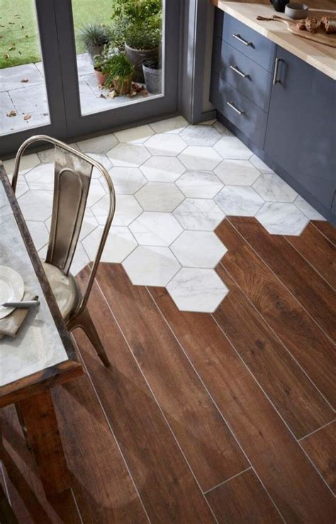 Hardwood Bathroom Floor - 17 best ideas about hexagon tiles on pinterest traditional trends wood and tile