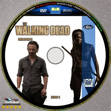The Walking Dead 2 Bv by The Walking Dead Temporada 5 2014 Dvd Cover