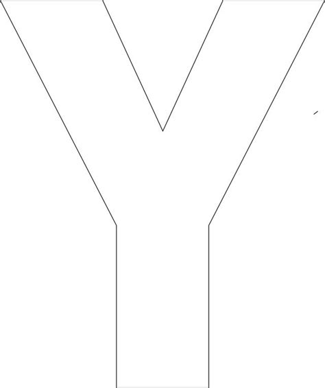 printable letter y template big letters to print and cut out big letters to print