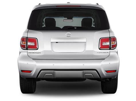2017 nissan armada exterior image 2017 nissan armada 4x4 platinum rear exterior view
