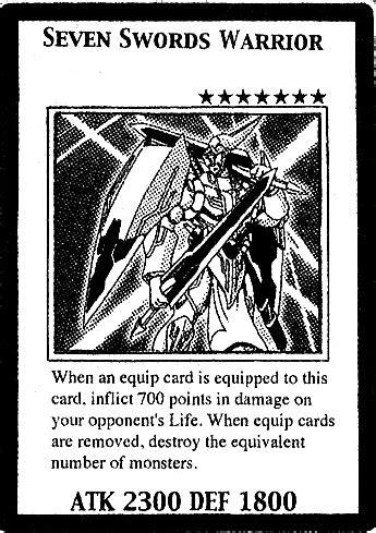 Seven Swords Warrior (manga) | Yu-Gi-Oh! | FANDOM powered