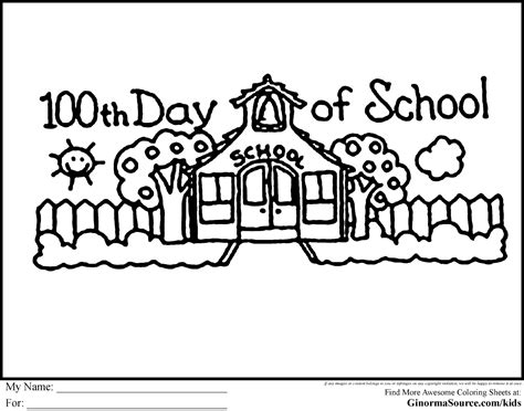 100 Days Of School Coloring Page a marrow chronicle 100 days