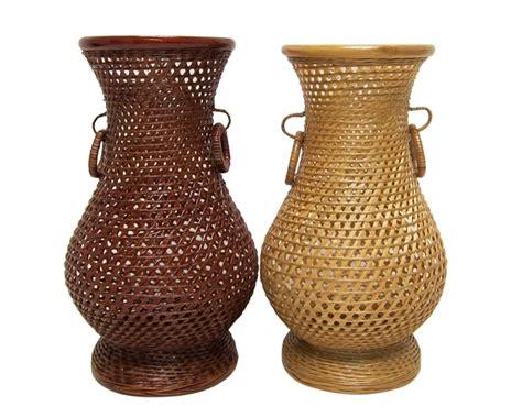 923 woven bamboo flower vase min 6