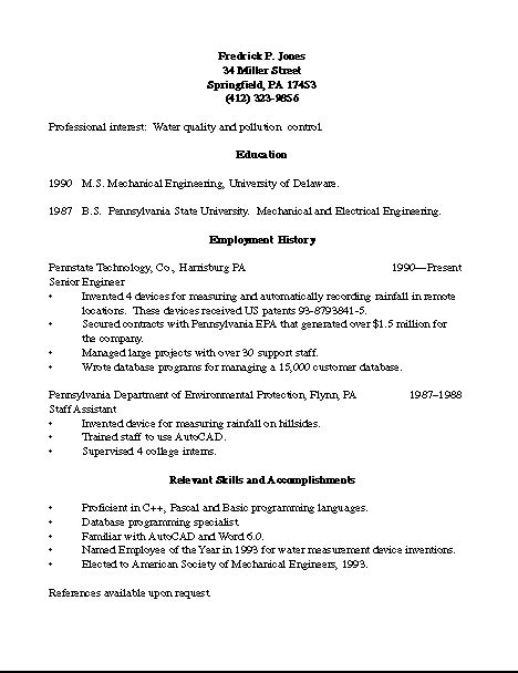 How To Do References On A Resume by R 233 Sum 233 S