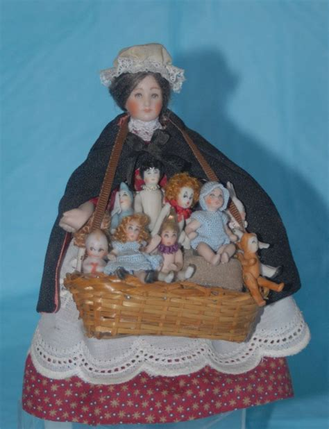 doll houses for sale ebay doll peddler ooak porcelain dollhouse artist miniature doll 10 dolls