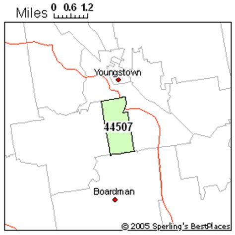 zip code map youngstown ohio best place to live in youngstown zip 44507 ohio