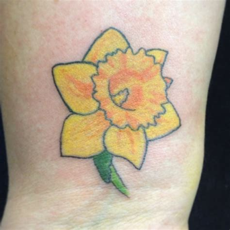 daffodil flower tattoo designs daffodil tattoos designs ideas and meaning tattoos for you