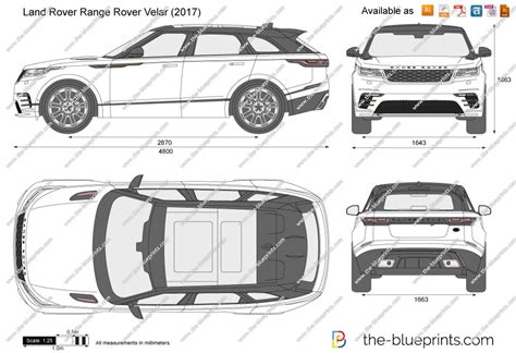 range rover vector the blueprints com vector drawing land rover range