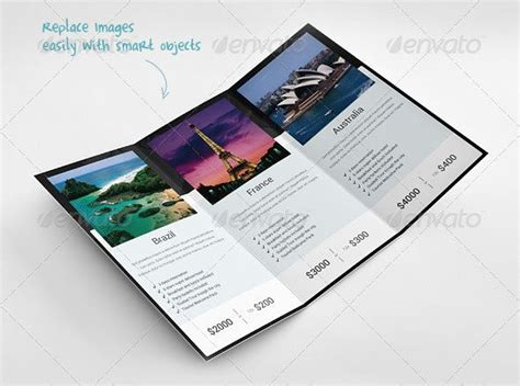 tri fold travel brochure template free 30 best brochure images on brochures creative