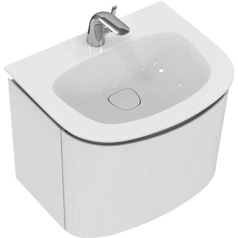lade ideal ideal standard dea wastafelonderbouwkast met 1 lade grijs
