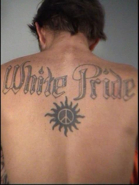 white pride tattoos florida with white pride celebrates his 40th