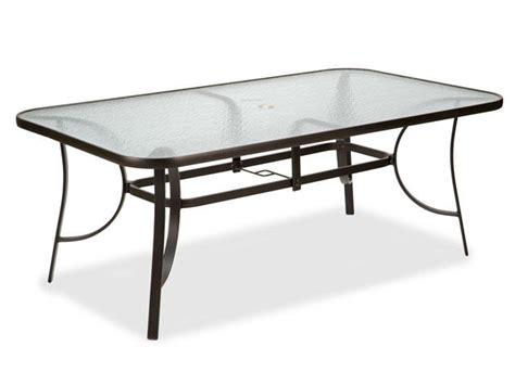 cape cod sling aluminum patio furniture outdoor patio cape cod sling 72 x 42 quot aluminum glass top dining table