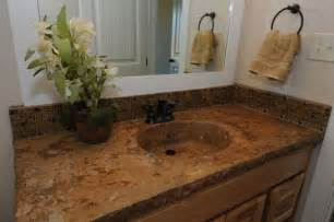 bathroom countertop with sink concrete integrated bowl sink and countertop by baron