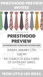 primary priesthood preview invites little lds ideas