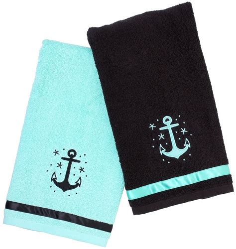 hand towels for bathroom anchor nautical bathroom hand towels whyrll com