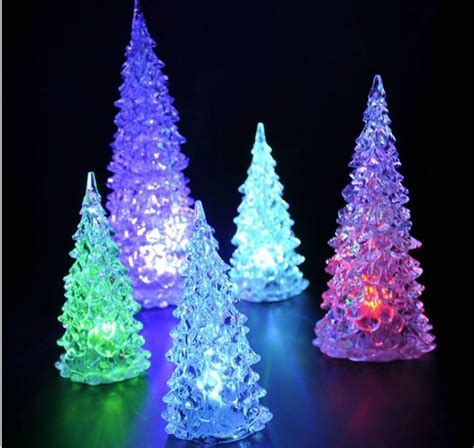 small led christmas tree color changing tree fishwolfeboro