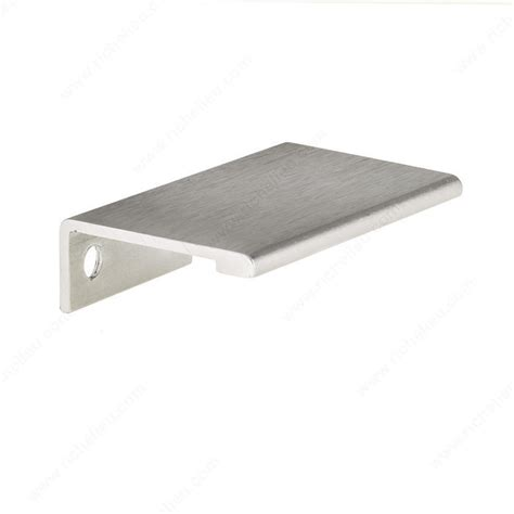 metal edge cabinet hardware pull contemporary aluminum edge pull 9898 richelieu hardware
