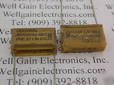 rifa capacitor pme271y rifa mp capacitor 28 images 2pcs pair nos siemens 2 2uf 250v mp j s pio paper in capacitors