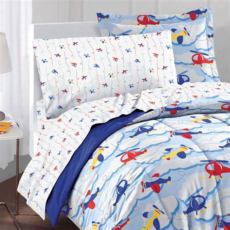 airplane bedding twin planes clouds twin bedding set 5pc helicopter airplane