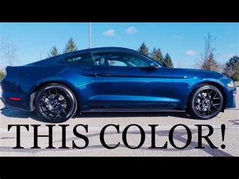 first look at my 2018 mustang performance pack! youtube