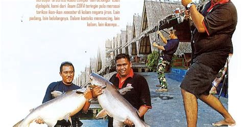 Pancing Fisherman memancing fishing artikal majalah pancing bil 173