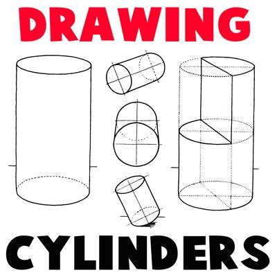 how to use doodle cast step 400x400 drawing cylinders how to draw cylinders and