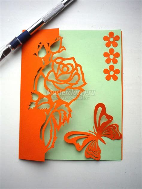 Diy Greeting Cards Template by How To Diy Kirigami And Butterfly Greeting Card