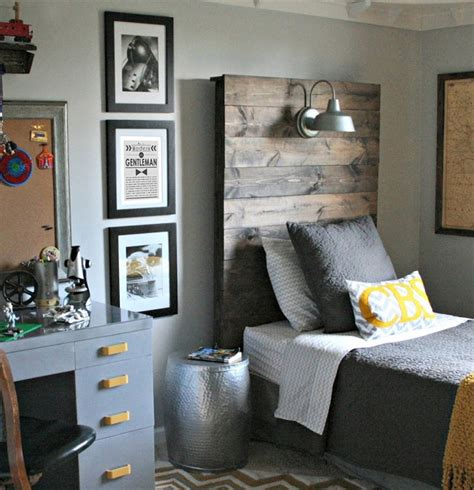 boys headboard ideas love the vintage industrial look of this little boy s