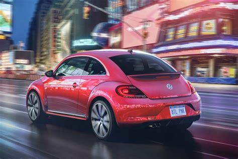 pink volkswagen inside volkswagen is a pink beetle insider car