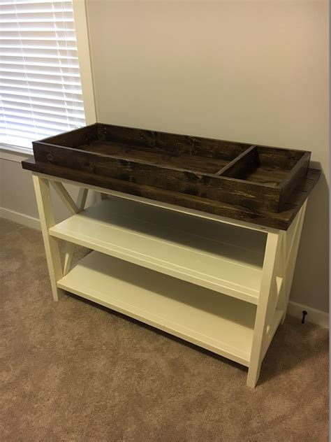 Changing Table Design Free Baby Changing Table Woodworking Plans