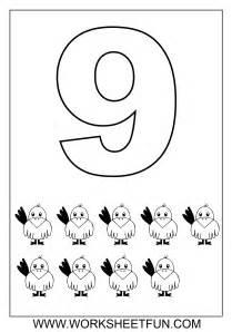 number coloring pages number coloring pages 1 10 worksheets free printable