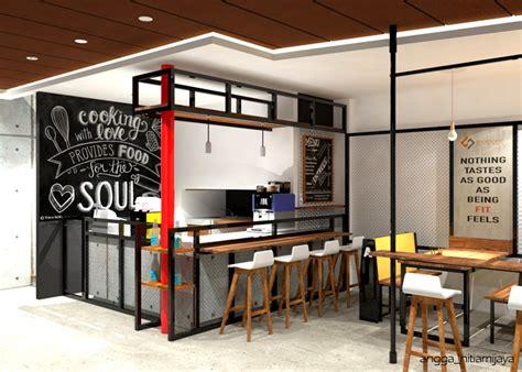 konsep  desain cafe mini