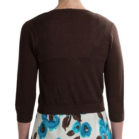 3 4 Sleeve Cardigan 3 4 sleeve cropped cardigan sweater jacket