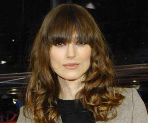 hair cut with bangs worn different ways 15 different ways to wear bangs popsugar beauty