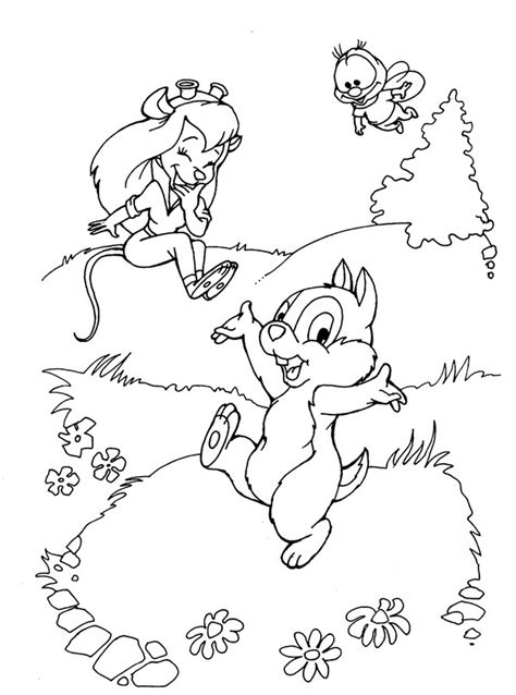 Chip N Dale Coloring Pages by N Coloring Page Chip And Dale Chip And Dale