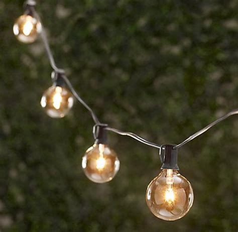Outdoor String Lights Design Sense Lighting Outdoor Light Strings