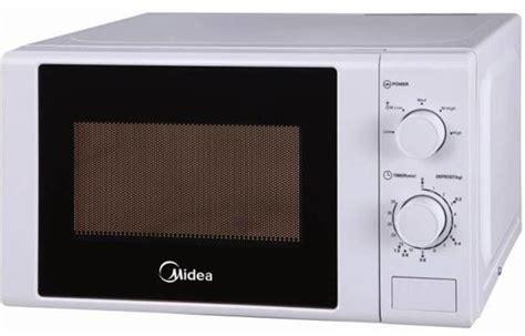 Microwave Midea midea 20 liter microwave oven white mm720cgew price