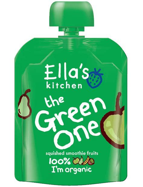 Ella S Kitchen by Ella S Kitchen The Green One Smoothie Fruit 90g Ella S