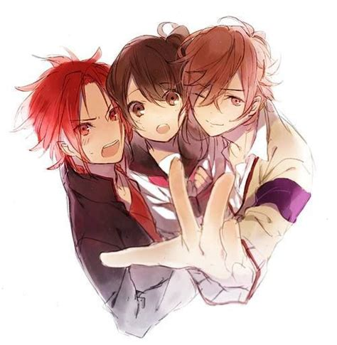 yusuke brothers conflict yusuke ema fuuto brothers conflict anime pinterest