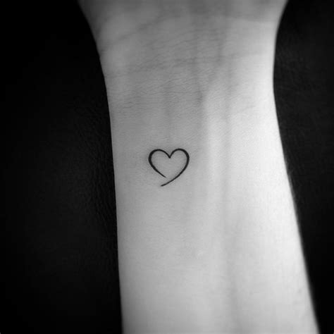 small open heart tattoos best 25 tiny ideas on tiny wrist