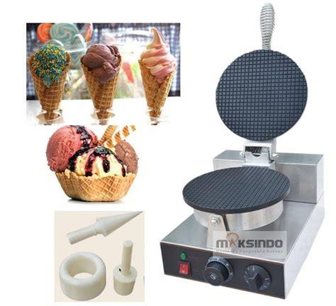 Penjual Cone Es Krim 3 pembuat cone dan mangkuk es krim cic21 toko mesin