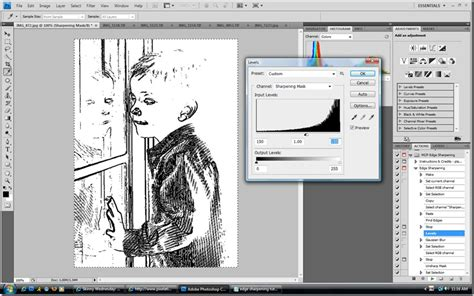 photoshop cs3 sharpening tutorial free sharpening photoshop action and tutorial edge sharpening