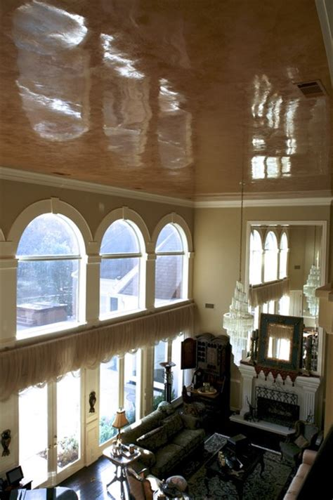venetian plaster ceiling traditional dallas by