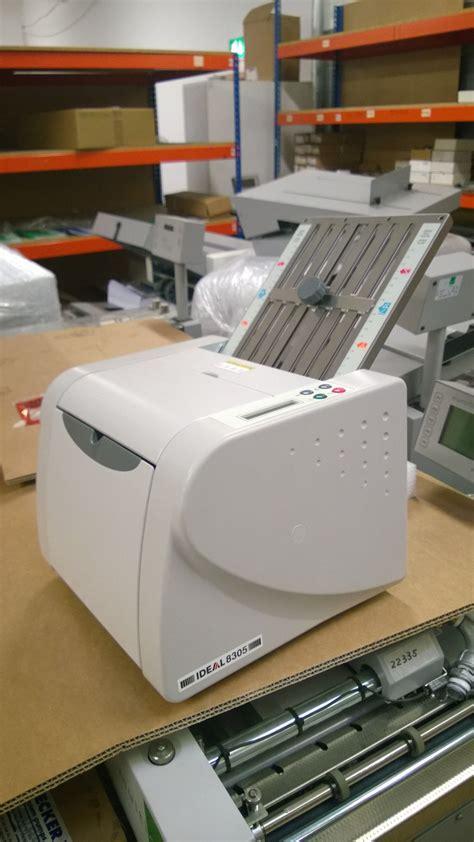 Paper Folding Machine Reviews - ideal 8305 paper folding machine