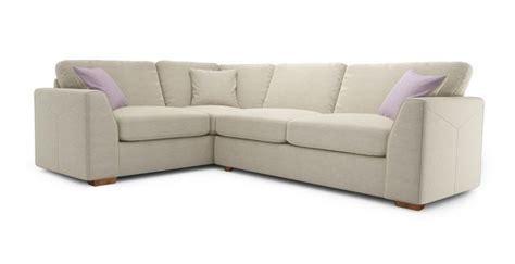 glow left facing 2 corner sofa blanche right facing 2 seater corner sofa sherbet