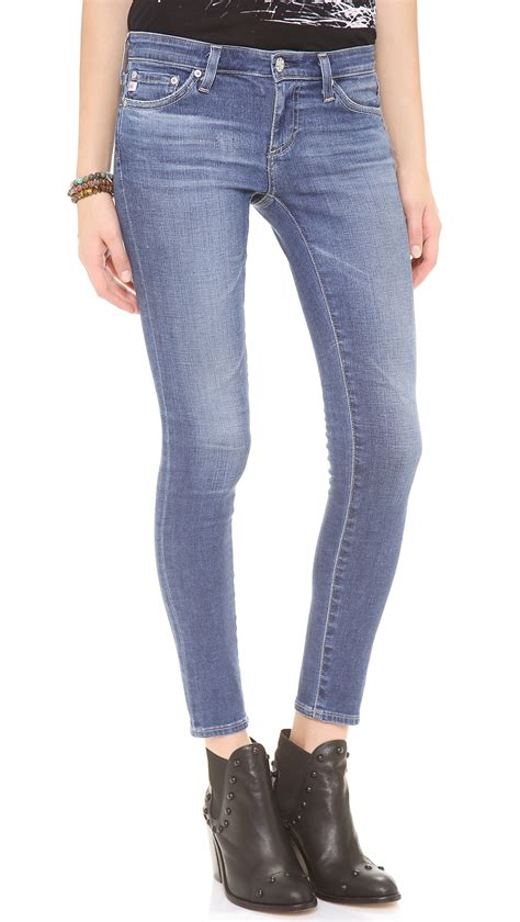 Ag Adriano Goldschmeid by Ag Legging Ankle In Blue 18 Year Lyst